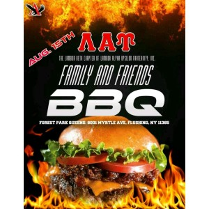 Upcoming Friends and Family BBQ Aug 15th don't forget!